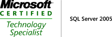 Microsoft Certified Technology Specialist SqlServer 2005